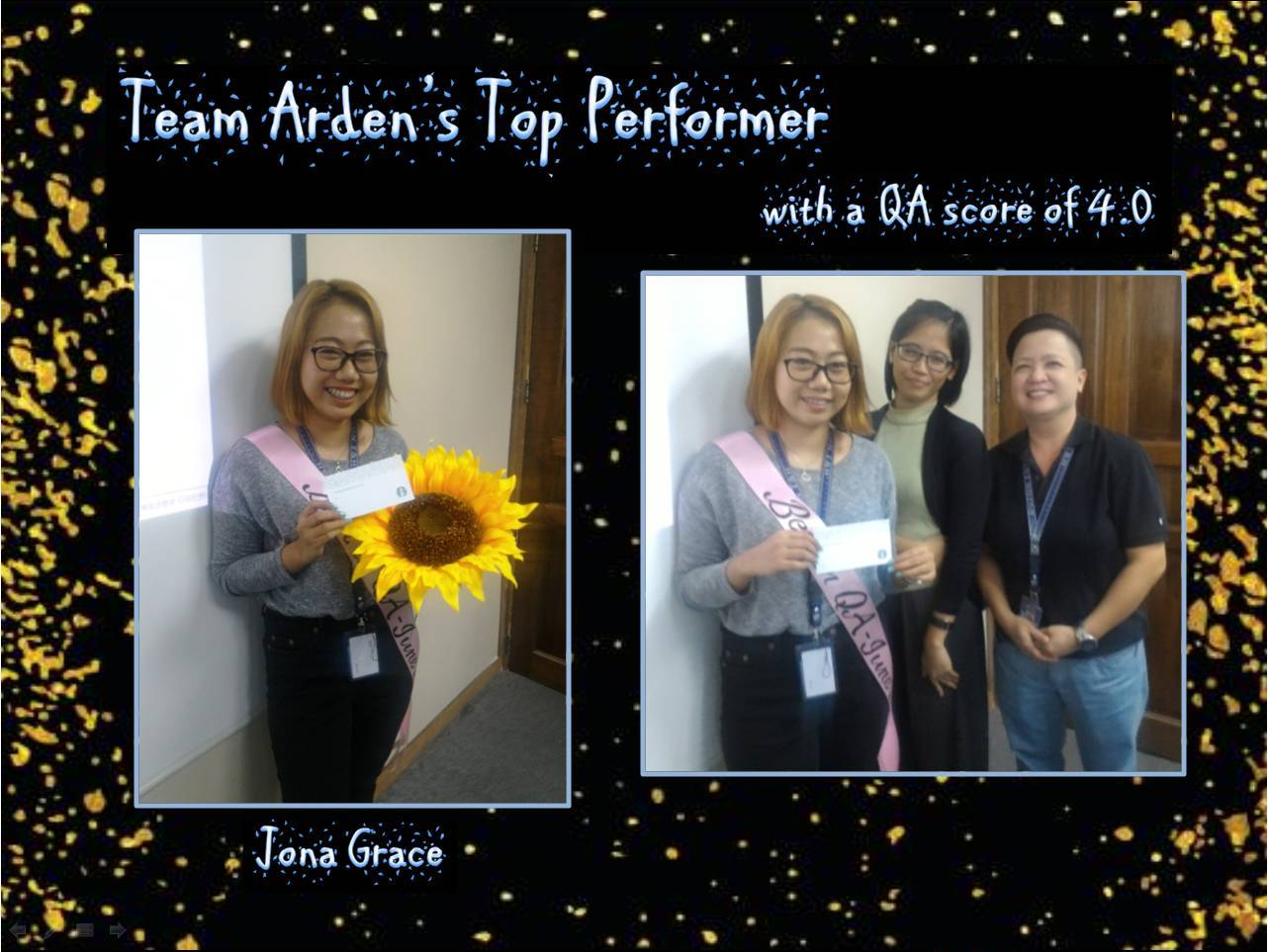 Team Arden_s Team Performance Meeting for June