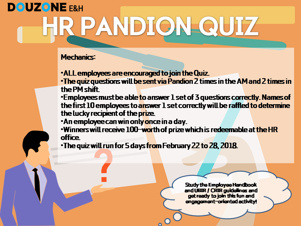 HR Pandion Quiz