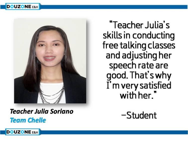 Teacher Julia