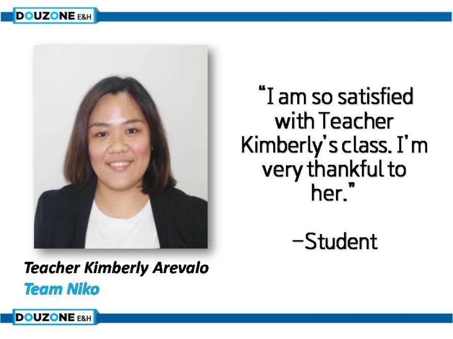 Teacher Kim
