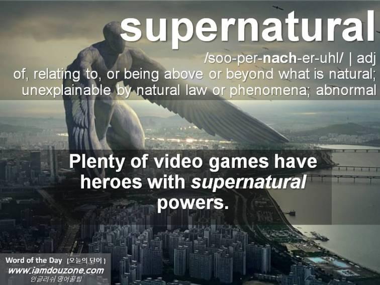Week#4 (supernatural)